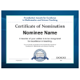 PAEMST Printable Teacher Nomination Certificate (2019-2020)